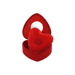 Мини-шкатулка для украшений «Сердце», Red - Фото