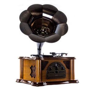 Граммофон «Синатра» дуб - Фото