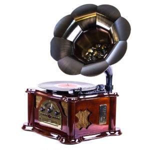 Граммофон «Синатра» вишня - Фото