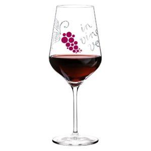 Бокал для красного вина /дизайн Nicole Winter - Фото