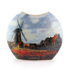 Ваза «Тюльпановое поле» Клод Моне 20 см - Фото