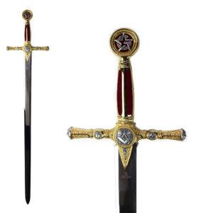 Масонский меч, Gold - Фото