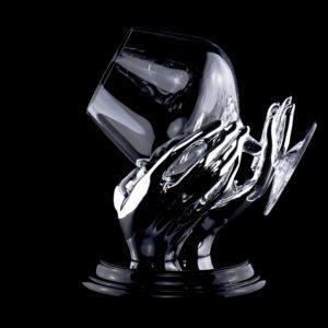 Бокал с подогревом для коньяка «Тепло рук» - Фото