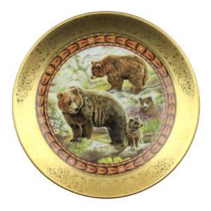 Декоративная тарелка «Wildlife», 1 шт. - Фото
