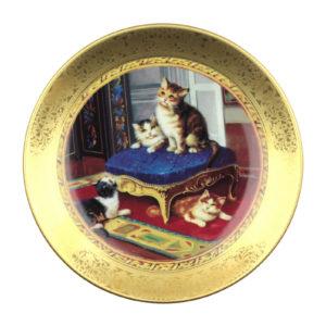 Декоративная тарелка «Regency Kittens» 1 шт - Фото