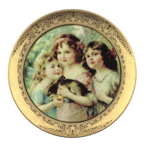 Декоративная тарелка «Викторианская мечта» - Фото