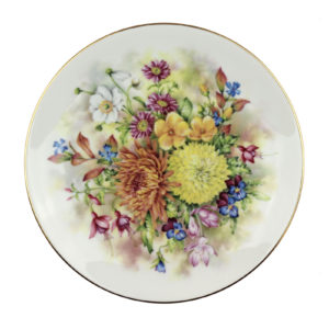 Декоративная тарелка «Цветы» - Фото