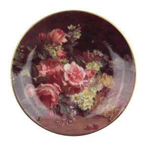 Декоративная тарелка «Roses Reveca», 1 шт. - Фото
