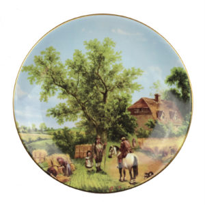 Декоративная тарелка «Испанский пейзаж», 1 шт - Фото