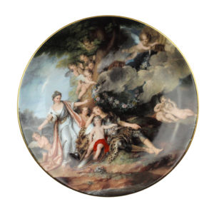 Декоративная тарелка «Мифология» - Фото