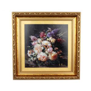 Картина «Натюрморт с розами» Жан Батист Роби - Фото