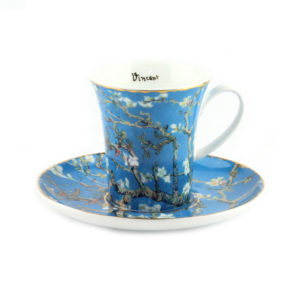 Чашка с блюдцем «Миндальное дерево» Винсент ван Гог - Фото