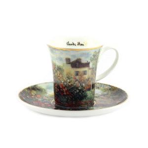 Чашка с блюдцем «Дом художника» Клод Моне - Фото