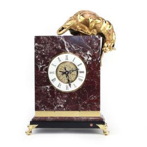 Часы настольные «Пантера» - Фото