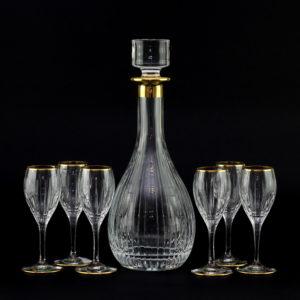 Набор для водки и ликера, Gold - Фото