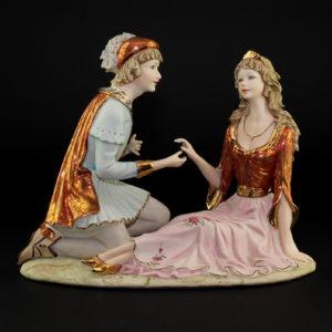 Статуэтка «Ромео и Джульетта» - Фото