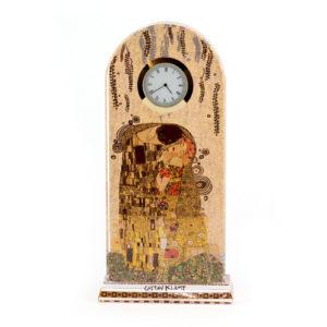 Часы настольные «Поцелуй» Густав Климт - Фото