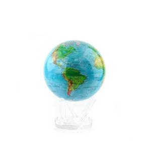 Гиро-глобус «Физическая карта» Ø11,4 см - Фото