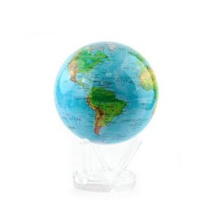 Гиро-глобус «Физическая карта» Ø15,3 см - Фото