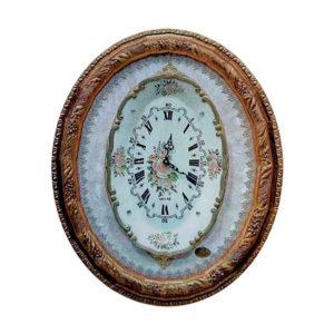 Часы настенные «Цветочный орнамент» - Фото