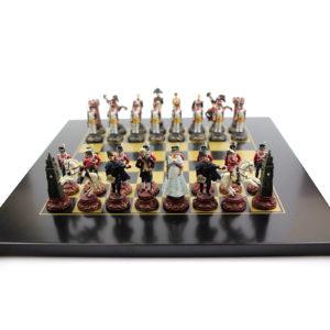Шахматы «Битва при Ватерлоо» - Фото