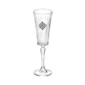 Набор бокалов для шампанского «Timeless Rombo Regina», 2 шт - Фото