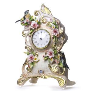 Часы с птицами - Фото