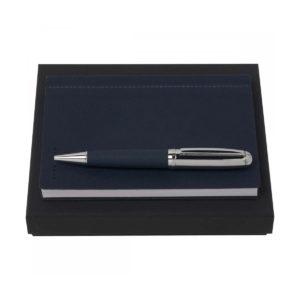 Набор: блокнот и ручка, Hugo Boss - Фото