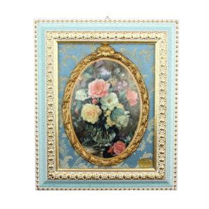 Картина фарфоровая «Цветы» - Фото