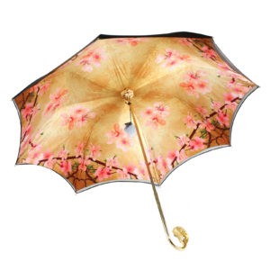 Зонт женский «CHERRY FLOWERS» - Фото