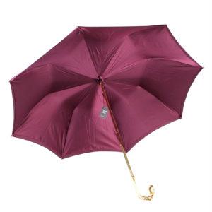 Зонт темно-красный женский - Фото
