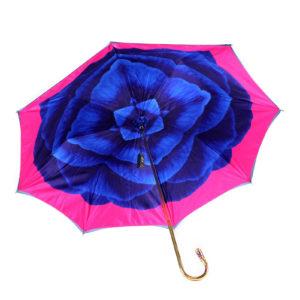 Зонт женский «Blue Camelia» - Фото