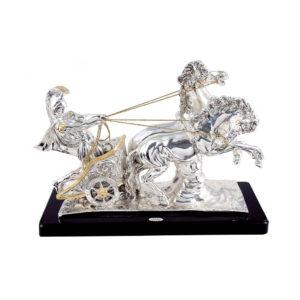 Статуэтка ручной работы «Гладиатор в колеснице» - Фото