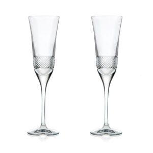 Набор бокалов для шампанского «FIESOLE» Style Prestige 2 шт - Фото