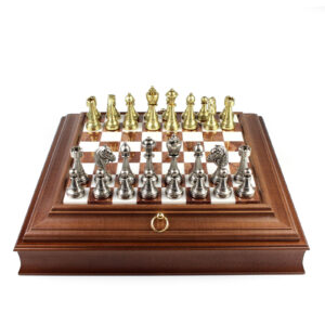 Шахматы «STAUNTON»/Brown - Фото