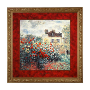 Картина «Дом художника» Клод Моне, 68 х 68 см - Фото