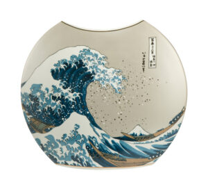 Ваза «Большая волна в Канагаве» Кацусика Хокусай - Фото