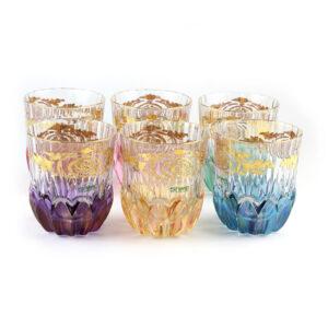 Набор стаканов, Gold - Фото