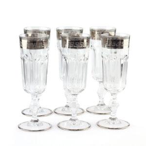 Набор бокалов «VERSUS» для шампанского - Фото