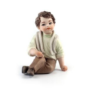 Статуэтка «Мальчик в шарфе» Riccardo - Фото