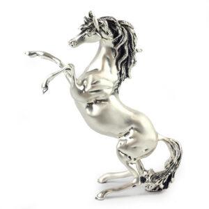 Статуэтка «Лошадь», серебро - Фото
