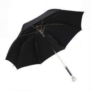 Зонт мужской «Сова»/Silver - Фото
