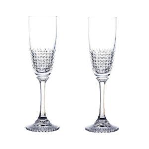 Набор бокалов для шампанского «DIAMOND» - Фото