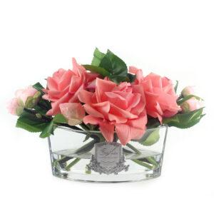 Парфюмированные цветы «Розы» (персик) - Фото