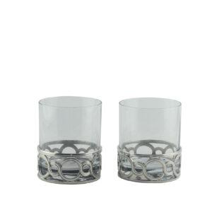 Набор стаканов для виски «Circle» 2 шт - Фото