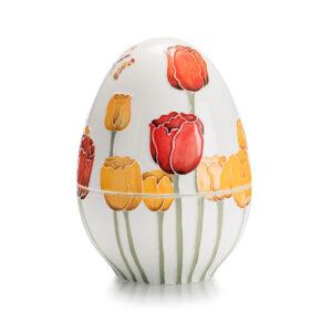 Шкатулка в форме яйца, 18 см - Фото