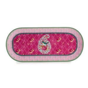 Блюдо «Птичка», розовое - Фото