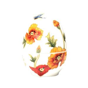 Шкатулка в форме яйца, 13 см - Фото