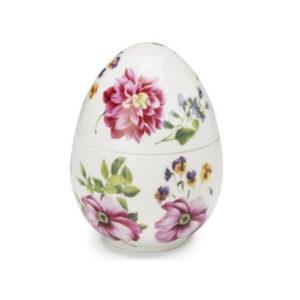 Шкатулка в форме яйца, 15 см - Фото