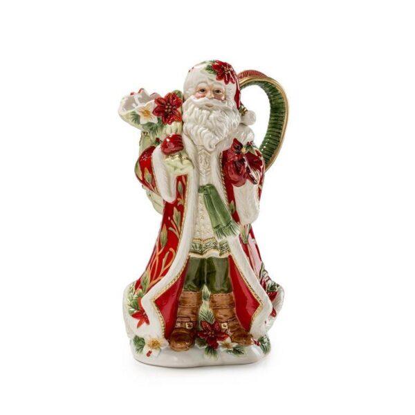 "Кувшин ""Дед Мороз с подарками"", 30 см керамика"